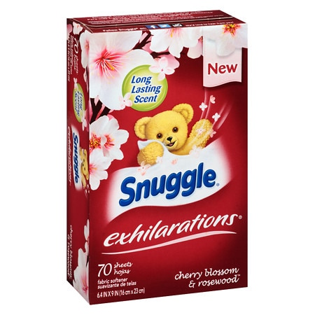 Snuggle Fabric Softener Cherry Blossom And Rosewood 70 Ea