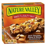 Nature Valley Sweet N Salty Bars Peanut & Almond
