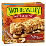 Nature Valley Sweet N Salty Bars Cashew Granola