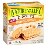 Nature Valley Biscuits Honey & Peanut Butter