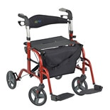 Juvo Hybrid Rollator-Transport Chair