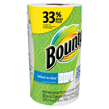 Bounty Select-A-Size Paper Towels Large - 1 ea