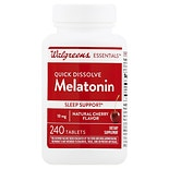Walgreens Quick Dissolve Melatonin 10 mg Tablets