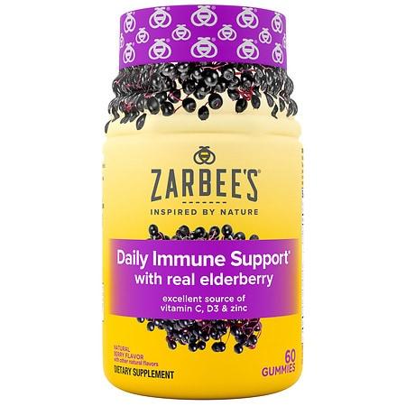 Image of ZarBee's Naturals Elderberry Immunity Supplement - 60 ea