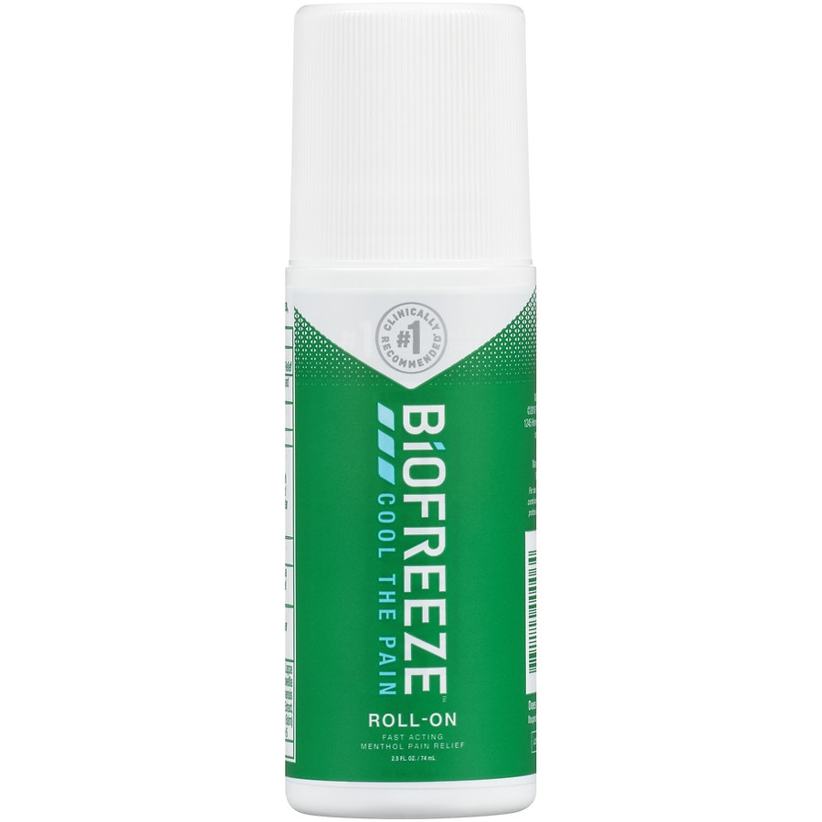 Biofreeze Classic Pain Relieving Roll On Walgreens