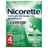 Nicorette 4 mg Lozenges Mint