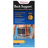 Walgreens Copper Comfort Back Support