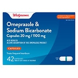 Walgreens Omeprazole 20 mg With Sodium Bicarbonate Capsules