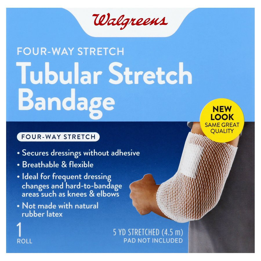 Walgreens Tubular Stretch Bandage 5 Yards Walgreens