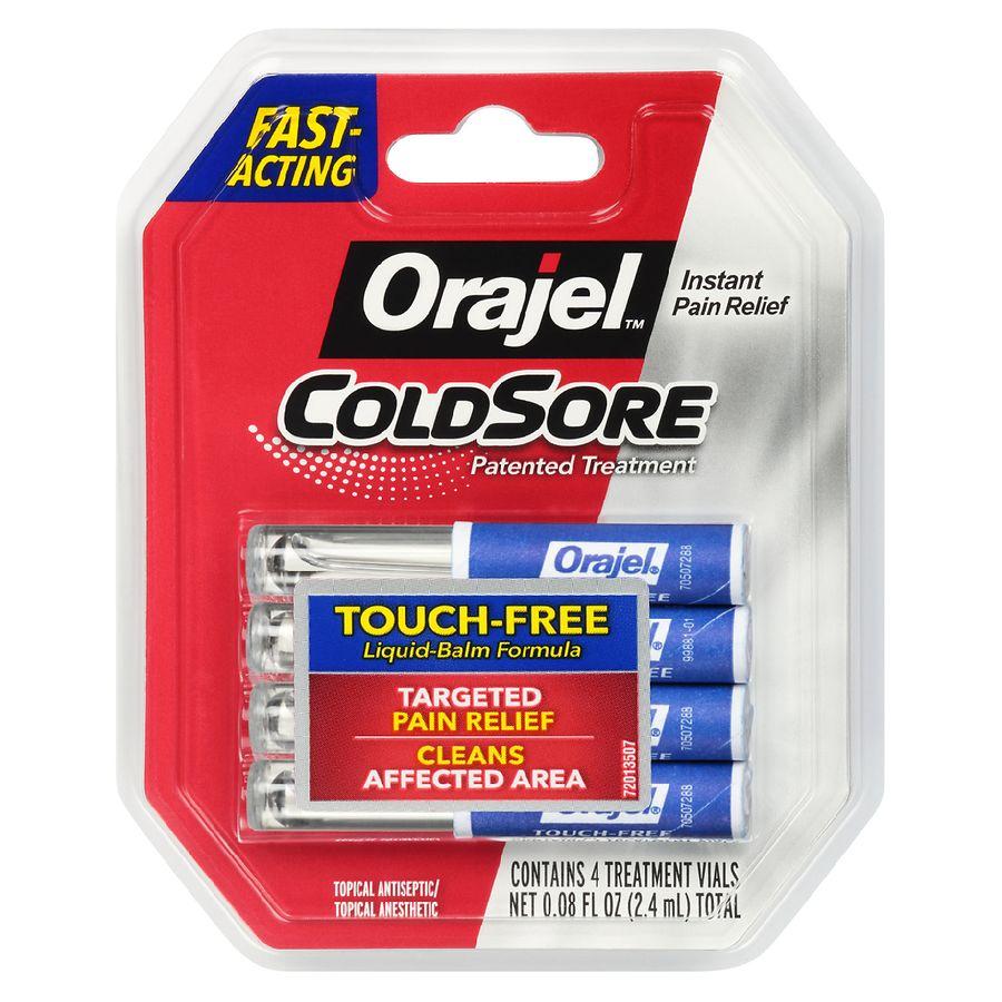 Orajel Cold Sore Touch Free Applicators