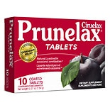 Prunelax Dietary Supplement Tablets