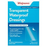 Walgreens Waterproof Transparent Dressings
