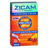 Zicam Ultra Cold Remedy Crystals Berry/ Lemonade