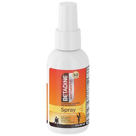Betadine First Aid Spray - 3 oz.