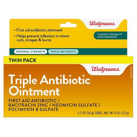 Walgreens Triple Antibiotic Ointment - 2 oz. x 2 pack