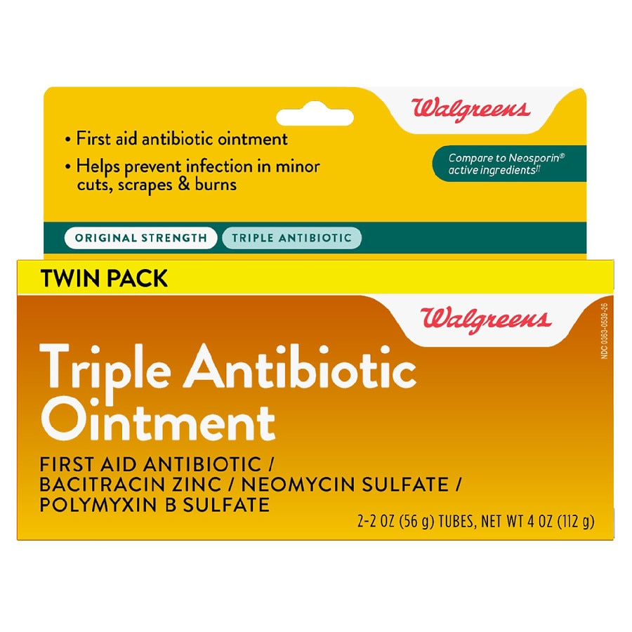 Antibiotics Antiseptics Walgreens