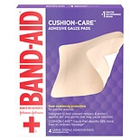 Band-Aid First Aid Adhesive Gauze Pad Size Large