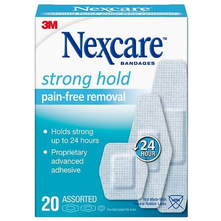Nexcare Sensitive Skin Bandages Assorted - 20 ea