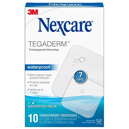 Nexcare Tegaderm Transparent Dressings Assorted - 10 EA
