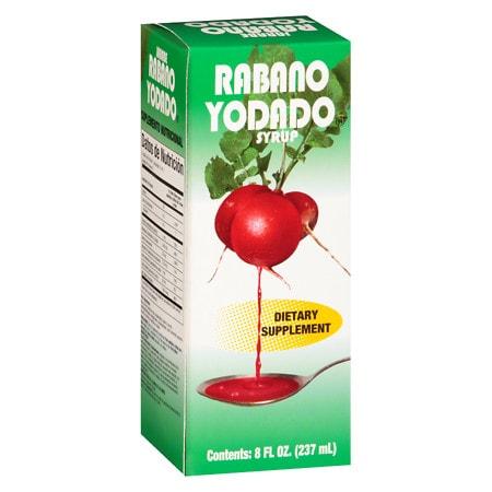Jarabe Rabano Yodado Syrup - 8 oz.
