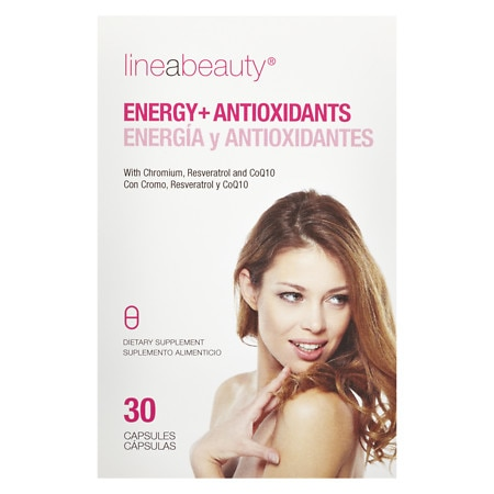 Lineabeauty Energy + Antioxidants Dietary Supplement - 30 ea