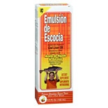 Emulsion De Escocia Cod Liver Oil Strawberry/ Banana