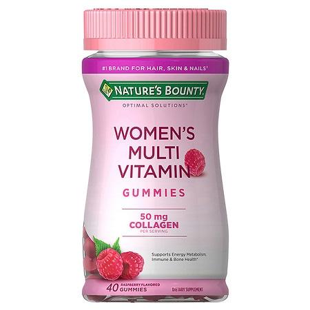 Nature's Bounty Optimal Solutions Women's Multi-Vitamin Gummies - 40 ea