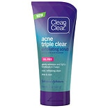 Clean & Clear Acne Triple Clear Exfoliating Scrub
