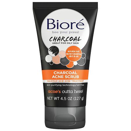 Biore Charcoal Acne Scrub - 4.5 oz.
