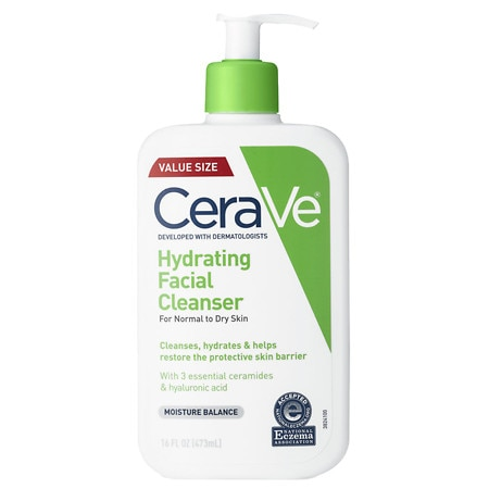 Hydrating Facial Cleanser Fragrance Free with Hyaluronic Acid - 16 oz.