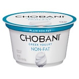 Chobani Greek Yogurt 0% Plain