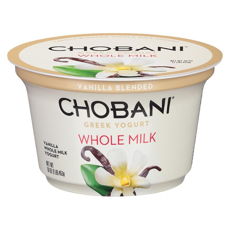 Chobani Greek Yogurt Vanilla Walgreens