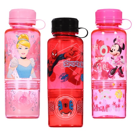 Disney Bottle With Snack Container 16 Ounce Assortment - 1 ea