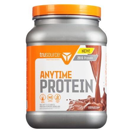 Trusource Anytime Protein Powder Chocolate - 24 oz.