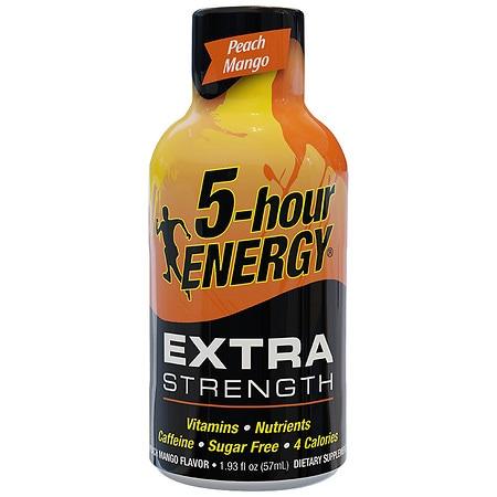5-Hour Energy Energy Shot Peach Mango - 1.93 oz.