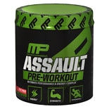 MusclePharm Assault Pre-Workout Powder 30 Servings Fruit Punch