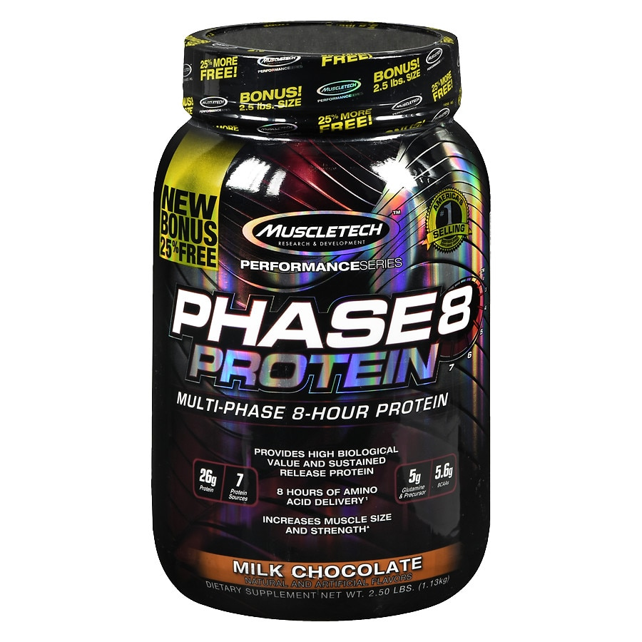 e53195cae Muscletech Phase 8 Protein Milk Chocolate40.0 oz