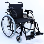 Karman Adjustable Ultra Lightweight Wheelchair Seat 18x16 Black