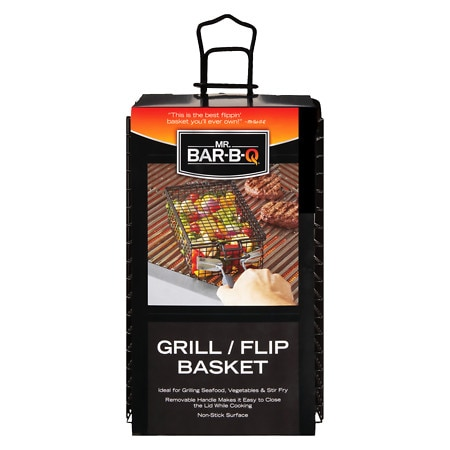 Mr. Bar-B-Q Grill/Flip Basket - 1 ea