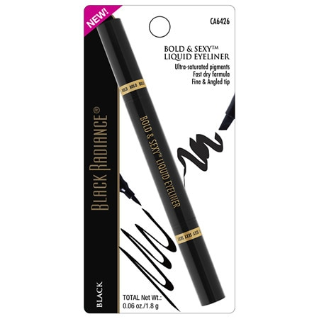 Black Radiance Bold Sexy Liquid Eye Liner - 0.01 oz.