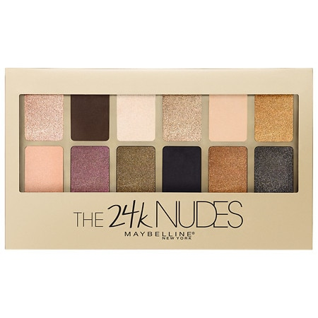 9c1eefb8941 Maybelline The 24K Nudes Eyeshadow Palette The 24K Nudes | Walgreens
