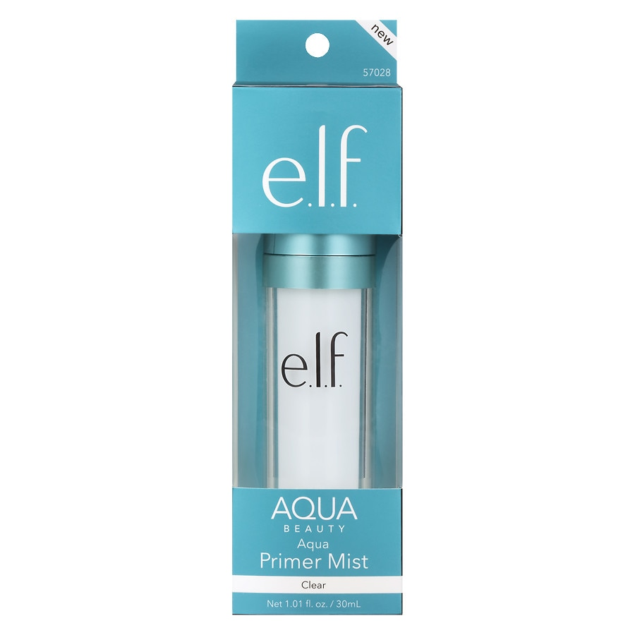 e l f  Aqua Beauty Primer Mist Clear