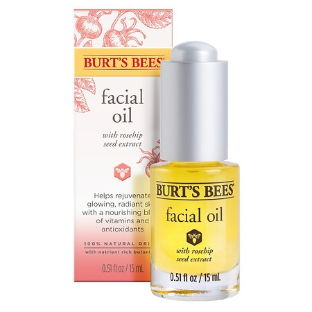 Image of Burt's Bees Facial Oil - 0.51 oz.