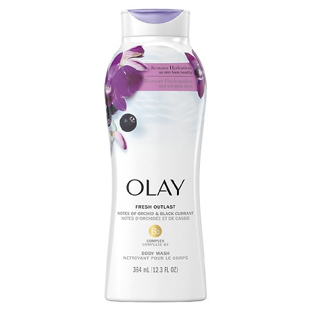 Olay Fresh Outlast Body Wash Soothing Orchid & Black Currant - 22 oz.