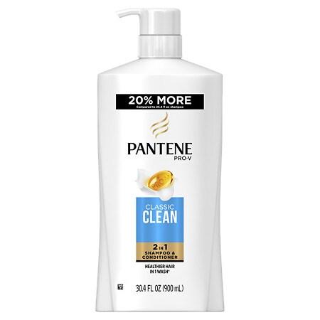 Pantene Pro-V Classic Clean 2-In-1 Shampoo & Conditioner - 30.4 oz.