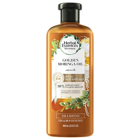 5fb226c71fe Herbal Essences Bio:Renew Smooth Shampoo Golden Moringa Oil - 13.5 oz.