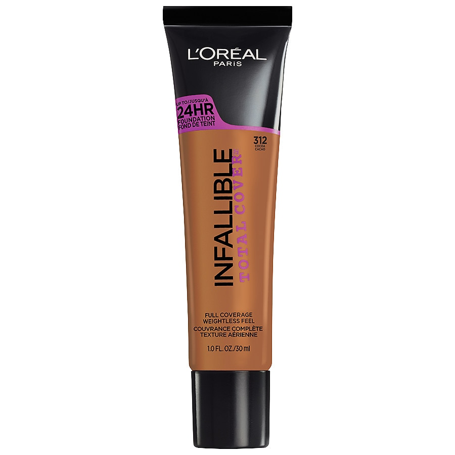 L'Oreal Paris Infallible Total Cover Foundation, Cocoa1.0 oz