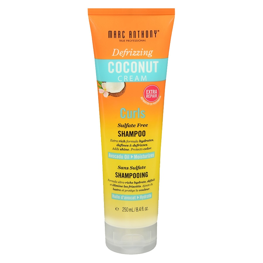 Marc Anthony True Professional Curl Shampoo Coconut Cream | Walgreens