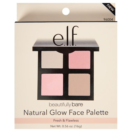 Image of e.l.f. Beautifully Bare Total Face Palette - 0.56 oz