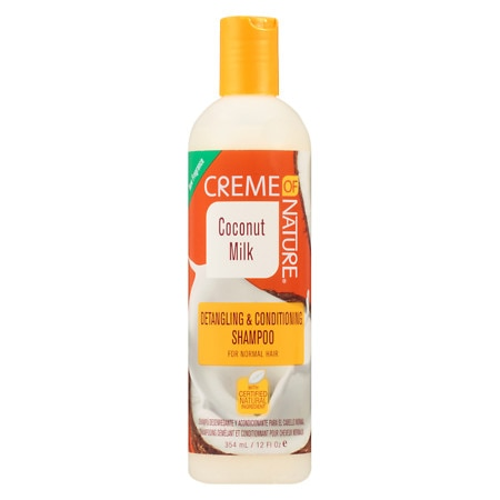 Image of Creme Of Nature Shampoo Coconut Milk - 12 oz.